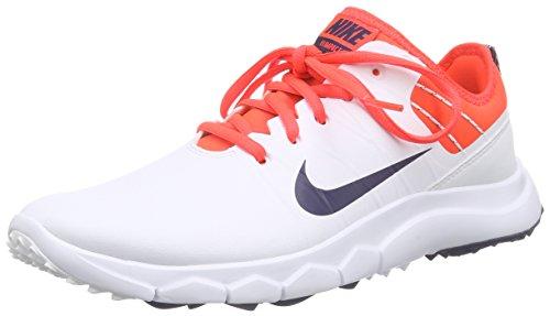 Nike FI Impact 2 Golf Shoes 2016 Ladies White/Bright Crimson/Red/Midnight Navy Medium 8.5