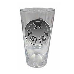 Marvel Colored SHIELD Logo Pint Glass