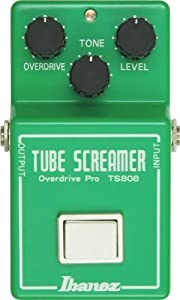 Ibanez TS808 Reissue Vintage Tube Screamer Pedal