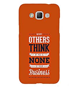 Others think None Business Cute Fashion 3D Hard Polycarbonate Designer Back Case Cover for Samsung Galaxy Grand Max G720