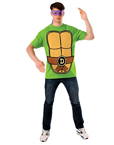 Donatello Teenage Mutant Ninja Turtles Costume Mask T-shirt