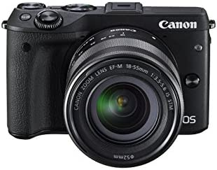 Canon M3 24.2MP Camera w/18-55mm Lens