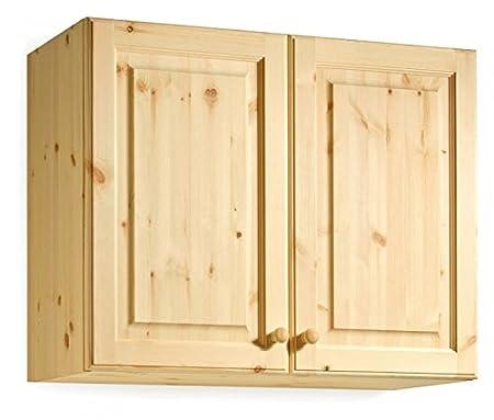 Mueble de colgar - madera de pino - 90x72x35 - color natural