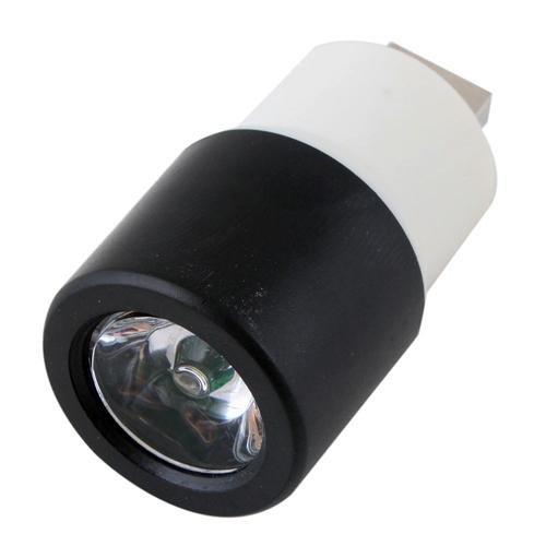 Mini Usb Rechargeable Led Lights Light Flashlight Multicolor Optional Black