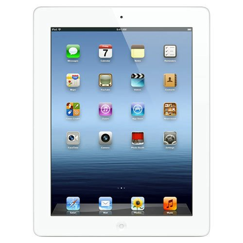 Apple iPad MD365LL/A (64GB, Wi-Fi + Verizon 4G, White) NEWEST MODEL