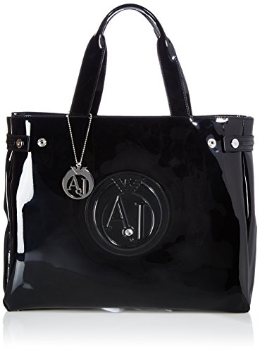 Armani Jeans Shoes & Bags De - 0524655, Acquirente da donna, nero (nero - black 12), 38x31x11 cm (B x H x T)