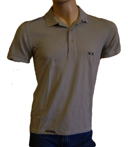 Project Vintage. Mens Grey Short Sleeved Polo Shirt Size M/UK 40