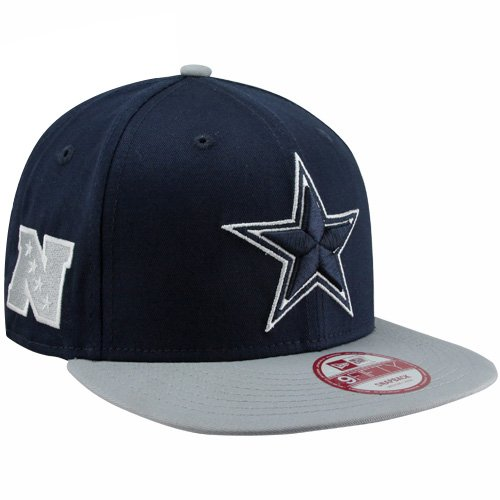 NFL New Era Dallas Cowboys Baycik 9FIFTY Snapback Hat - Navy Blue at Amazon.com