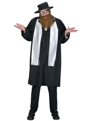 Rabbi Adult Adult Mens Costume