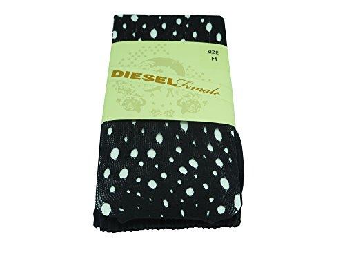 Diesel pari Sina collants 00cp3j 00fws Donna Calzettoni FEIN calze,, colore: nero Nero  nero