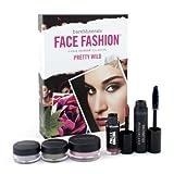 Bare Escentuals - BareMinerals Face Fashion Collection - The Look Of Now Pretty Wild (Blush + 2x Eye Color + Mascara + Lipcolor) - 5pcs