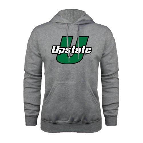 South Carolina Upstate Champion Grey Fleece Hood 'Upstate U' - Xxxl