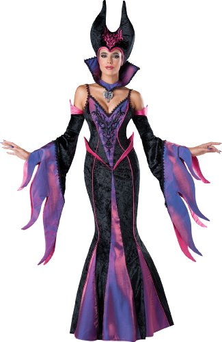 Check ...  sc 1 st  Costume Overload & Disney Villain Maleficent Deluxe Halloween Costume Gown
