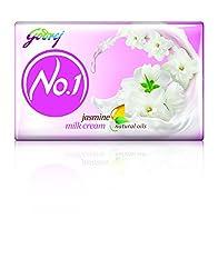 Godrej No.1 Jasmine Soap, 100g (Pack of 4)