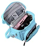 G-HUB game and Console Travel Bag for Nintendo DS Consoles with Shoulder Strap, Carry Handle, Belt Loop (Blue)