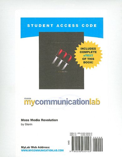 MyCommunicationLab with Pearson eText -- Standalone...