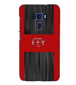PrintVisa Quotes & Messages Wine Aerobics 3D Hard Polycarbonate Designer Back Case Cover for ASUS ZENFONE 3 ZE552KL
