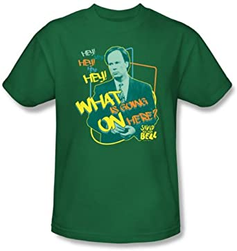 Buy Saved by the Bell Shirt - Belding Kelly Green Adult Tee by Saved The Bell
