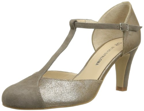 Studio Paloma Women's Honoria Court Shoes Gold Or (Ante Sombra 1453) 6.5 (40 EU)