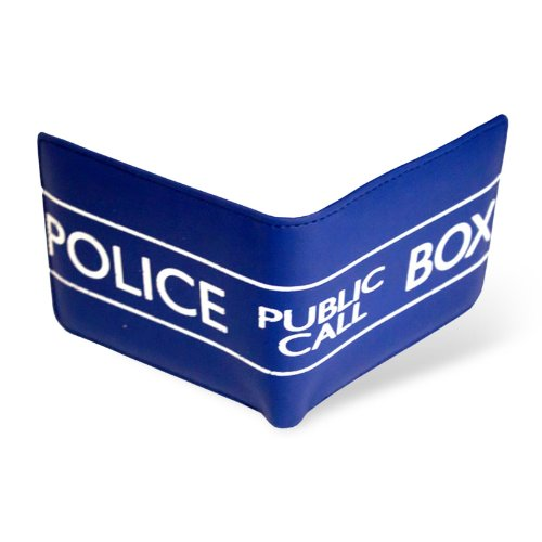 Doctor Who Tardis Police Phone Box Wallet