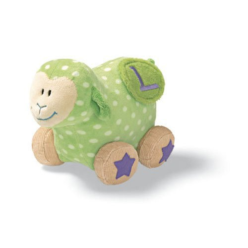 Learn With Me Green Lamb 6 inch Educational Plush Toy - 1
