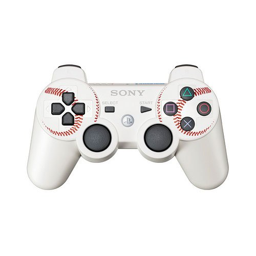 PS3 DualShock 3 Wireless Controller - MLB 11 The Show Edition