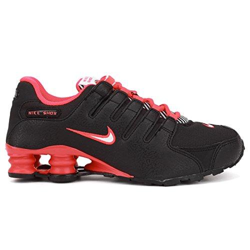 Nike Shox NZ Black Youths Trainers Size 38.5 EU