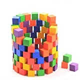Generic 100pcs Children Wood Blocks Set Intelligence Game Building Blocks Stacking Toys