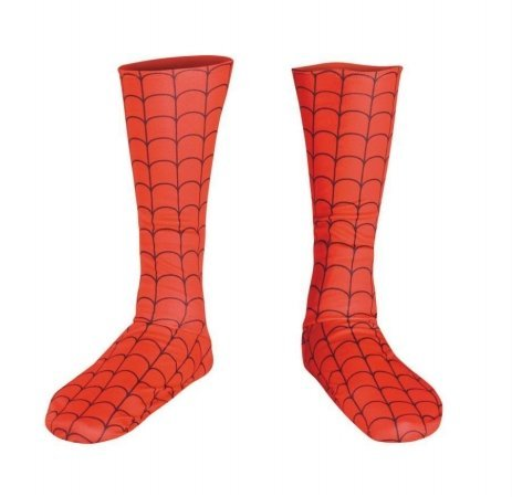 Costumes For All Occasions Dg19056 Spiderman Boot Covers Dlx