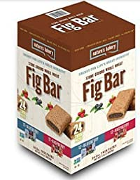 Nature\'s Bakery Fig Bar, Variety Pack (2 oz., 24 twin pks.)