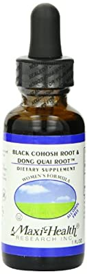 Maxi Black Cohosh and Dong Quai Root Extract,1 Ounce