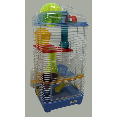3 Level Clear Plastic Mice Cage 41zndnT4yML hamster cages Hamster Cages | Toys | Balls | Treats | Bedding 41zndnT4yML
