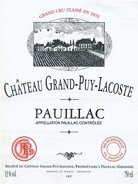 Chateau Grand-Puy Lacoste Pauillac 2002 750Ml