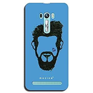 Mozine Handsome Bearded Man printed mobile back cover for Asus zenphone selfie