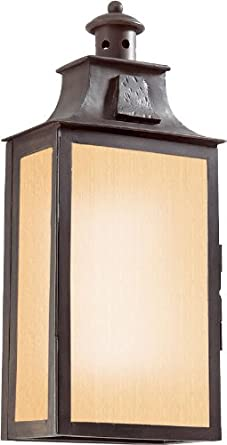 troy lighting bf9008obz newton photocell outdoor wall. Black Bedroom Furniture Sets. Home Design Ideas