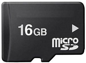 16GB Micro SD Carte mémoire pour votre T-Mobile Dash 3G , G1 , G2 Touch , MDA Compact V , MDA Touch , MDA Vario III , MDA Vario IV , MDA Vario V , myTouch 3G , Pulse , Touch Plus , Vairy Touch Téléphone portable ! avec adaptateur