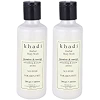 Khadi Jasmine & Mogra Body Wash- Sls & Paraben Free - 210ml (Set Of 2)