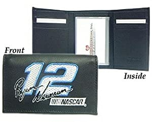 Ryan Newman Official NASCAR Embroidered Leather Tri-Fold Wallet by Rico Industries... by Unknown