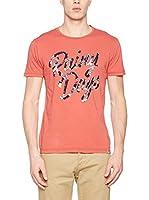Springfield Camiseta Manga Corta (Coral)