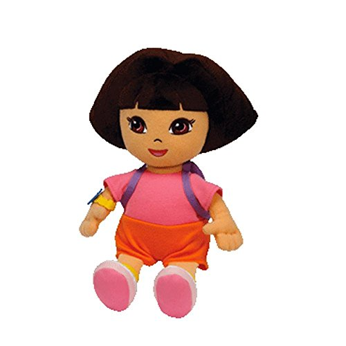 Ty Beanie Baby Dora the Explorer (Styles and Colors may vary) - 1