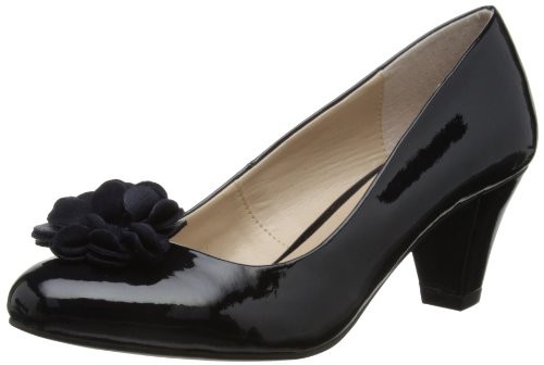 Lotus Womens Intrigue Court Shoes 50267 Navy/Shiny 5 UK, 38 EU