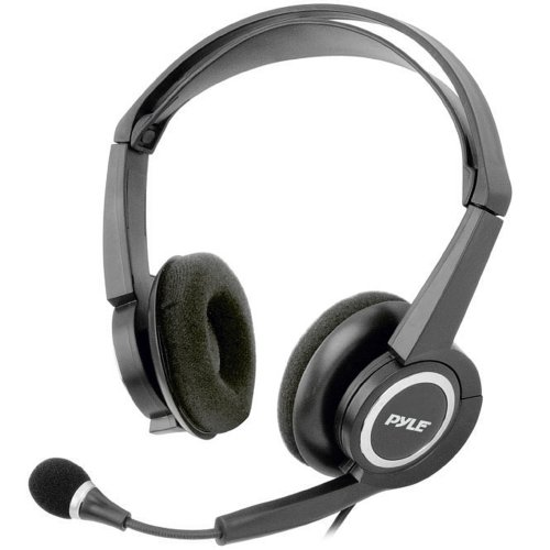 Pyle Home Phpmc7 Extreme Bass Stereo Pc Multimedia Headset/Microphone With Volume Control