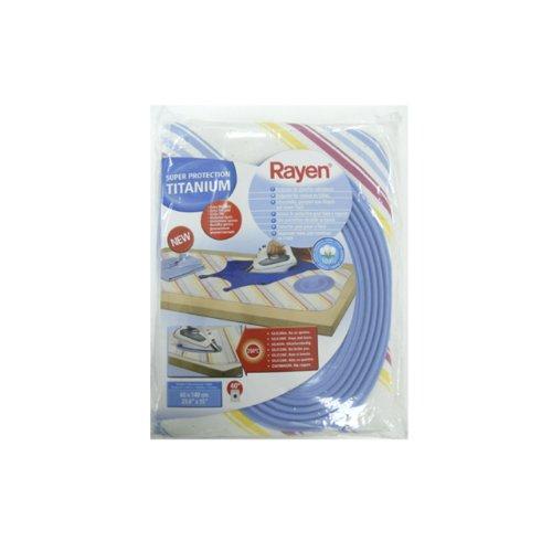 Rayen 6160 telo per stirare sul tavolo imbottito di silicone 60x140 cm - Mollettone per stirare sul tavolo ...