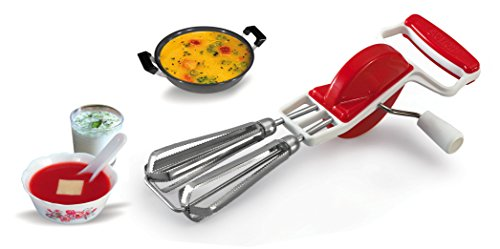 CONNECTWIDE® Beater, Stainless Steel Egg Beater Lassi / Butter Milk Maker / Mixer Hand Blender