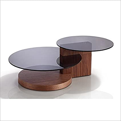 Walnut Veneer Coffee Table by Talenti Casa is part of the CLUB Collection.