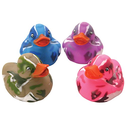 Camo Rubber Ducks - 12 pcs