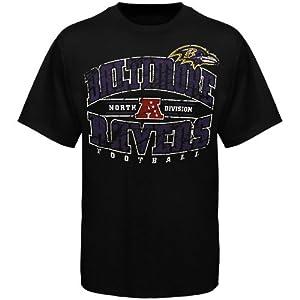 NFL Baltimore Ravens Team Shine IV T-Shirt - Black from Nutmeg