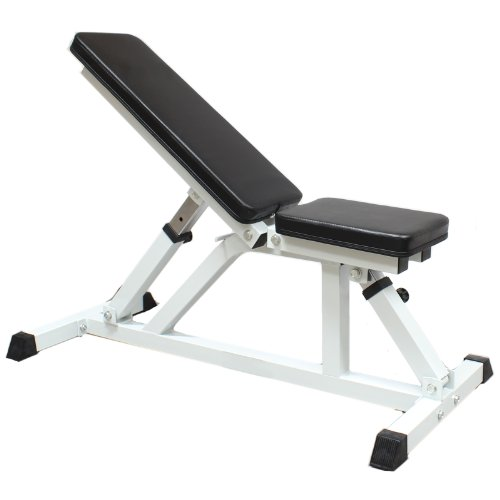 Hardcastle Flat Incline Adjustable Dumbbell Weight Bench Nakosite