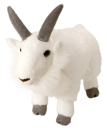 "Wild Republic Cuddlekins 12"" Mountain Goat"