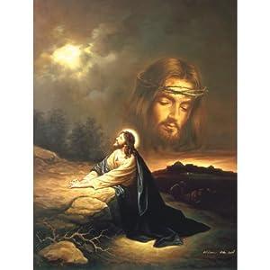 SunsOut - Scafa - Praying At Gethsemane - Jigsaw Puzzle - 500 Pc
